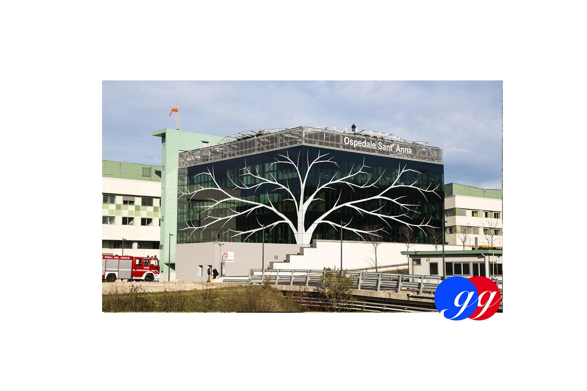 Sala conferenze Ospedale Sant'Anna di Como